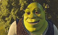 Shrek has a lot to smile about